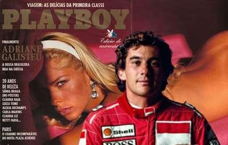 Adriane Galisteu disse, anos depois, ter concordado com o pedido de Senna para suspender suas primeiras fotos na Playboy