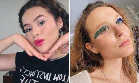 Maquiagens diferentonas (Fotos: Instagram/Reprodução)
