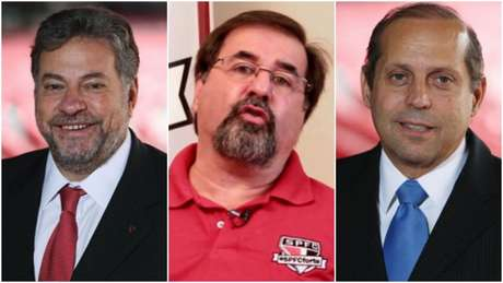 Casares deve ser candidato, enquanto Marco Aurélio e Natel podem enfrentá-lo - FOTOS: Divulgação