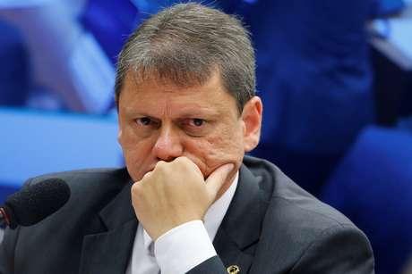 Ministro da Infraestrutura, Tarcisio Freitas. 3/4/2019. REUTERS/Adriano Machado