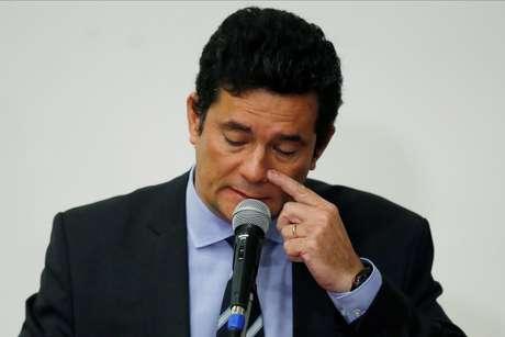 Ex-ministro da Justiça Sergio Moro 24/04/2020 REUTERS/Ueslei Marcelino