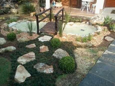 33. Pedras para jardim grandes e pequenas. Projeto de Atelier de Paisagem