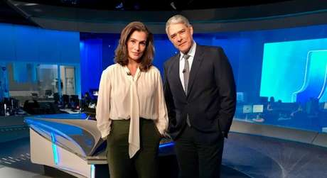 Renata Vasconcellos e William Bonner: o Jornal Nacional tenta se aproximar mais do telespectador com histórias essencialmente humanas