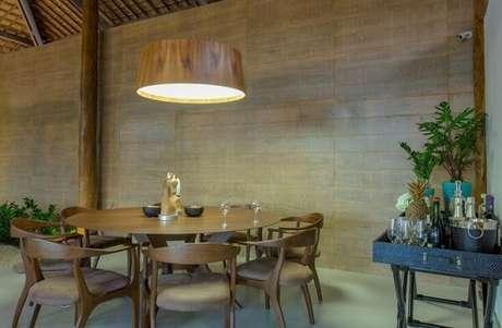 84. Aparador bar para sala de jantar. Projeto de Sandra Moura