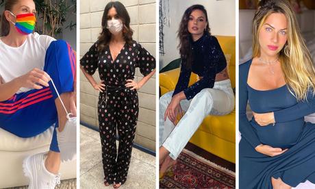 Mães estilosas na quarentena (Fotos: Instagram/Reprodução)