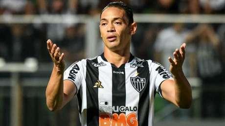Ricardo foi o único jogador que se manifestou publicamente sobre a ausência na apresentação de segunda-feira, no Galo-(Reprodução/Twitter)