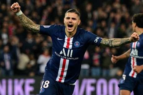 Paris Saint-Germain quer manter Mauro Icardi no time para próxima temporada (MARTIN BUREAU / AFP)