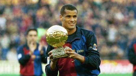 Rivaldo (meia) – jogou entre 1997 e 2002 pelo Barcelona (Foto: Divulgação/Barcelona)