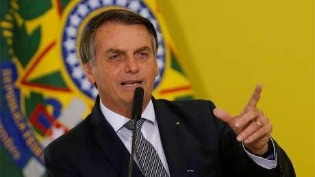 """""""Zero preocupação"""", diz Bolsonaro sobre vídeo de reunião"""