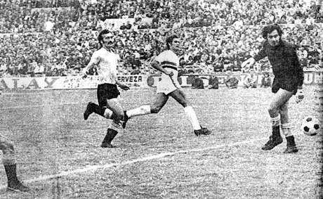 Pedro Rocha marcou contra sua própria seleção e deu a vitória ao Tricolor (Foto: Reprodução)