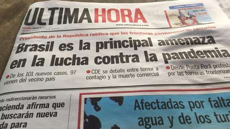 Jornal paraguaio reproduziu declaração de presidente do país