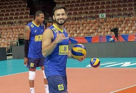 Thiaguinho vai para sua terceira equipe na Europa (Foto: Divulgação/CBV)