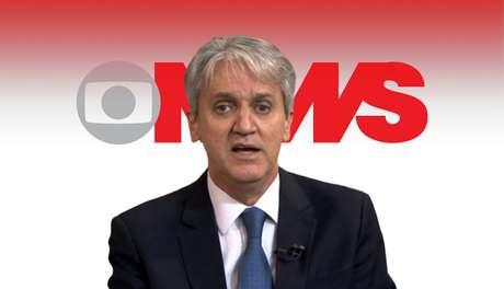 O jornalista Valdo Cruz participa de quase todos os programas da GloboNews com comentários sobre política