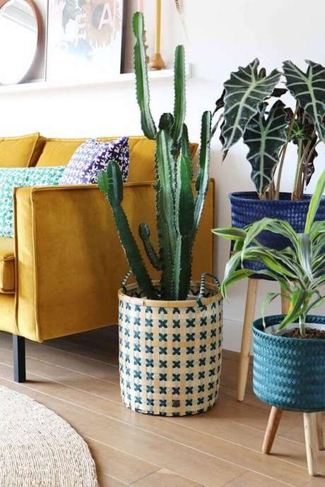 48. Vaso grande decorativo personalizado – Via: Clem Around the Corner