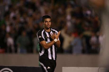 André Lima pelo Botafogo, em 2007 (Foto: Julio Cesar Guimaraes/Lancepress!)