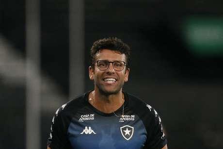 Alberto Valentim comandou o Glorioso por apenas 40 no início da temporada de 2020 (Foto: Vítor Silva/Botafogo)