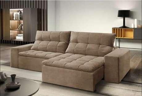 5. Modelo de sofá modular retrátil. Fonte: Pinterest