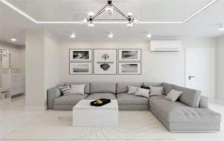 7. Monte e remonte o sofá módulos separados. Fonte: Pinterest