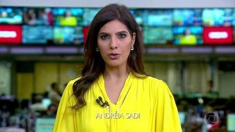 A jornalista em participação no 'Jornal Hoje': destaque como repórter e comentarista