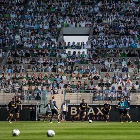 O Galo quer fazer a mesma ação que o time alemão para movimentar sua torcida-(Divulgação/Borussia Mönchengladbach)