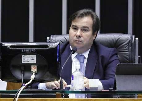 Rodrigo Maia, presidente da Câmara