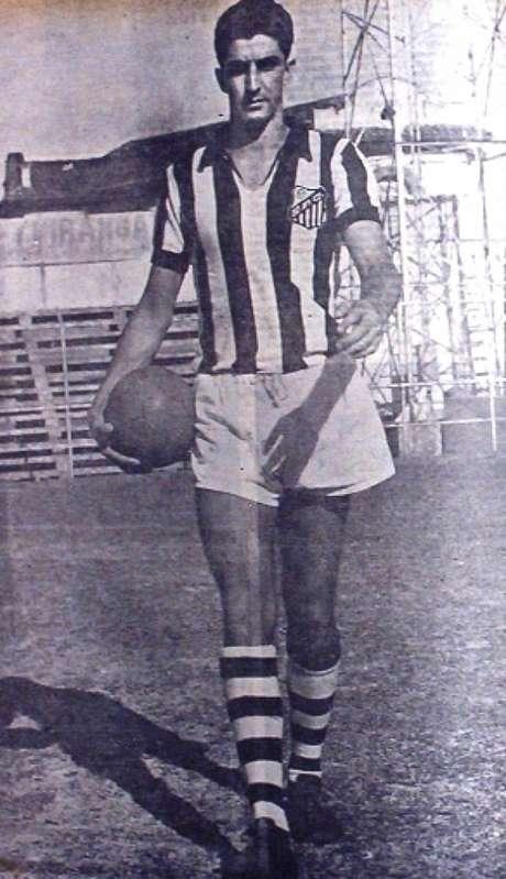 Ramiro marcou história com a camisa do Santos F.C. (Foto: Walter Peres)