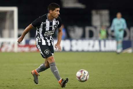 Federico Barrandeguy foi o reforço do Botafogo para a lateral-direita em 2020 (Foto: Vítor Silva/Botafogo)
