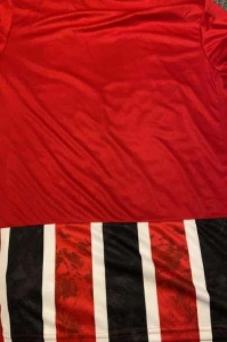 Parte de trás da nova camisa do Tricolor (Foto:Divulgação)
