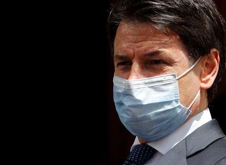 Primeiro-ministro da Itália, Giuseppe Conte, em Roma 20/05/2020 REUTERS/Remo Casilli