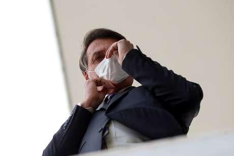 Presidente Jair Bolsonaro em Brasília 12/05/2020 REUTERS/Adriano Machado