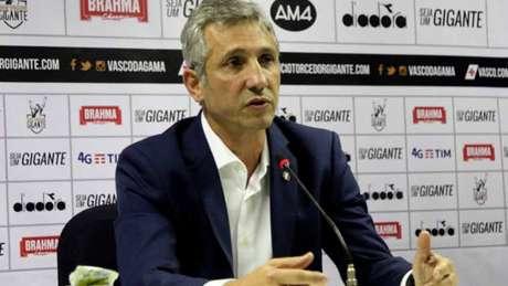 Alexandre Campello foi criticado por comentarista por apoiar retorno dos treinos (Paulo Fernandes/Vasco.com.br)