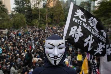 Protestos em Hong Kong vêm sendo registrados desde 2019