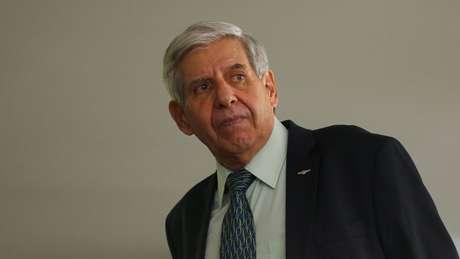 Augusto Heleno é ministro do Gabinete de Segurança Institucional