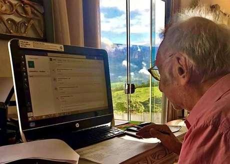 Carlos Augusto Manço passou alguns dias da quarentena estudando na Serra da Canastra, em Minas Gerais