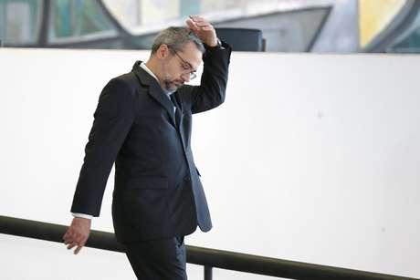 Ministro Abraham Weintraub chega ao Palácio do Planalto  3/10/2019 REUTERS/Adriano Machado