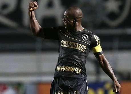 Clarence Seedorf em ação pelo Botafogo (Foto: Miguel Schincariol/LANCE!Press)