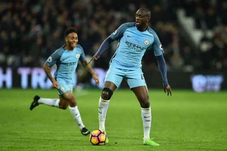 Yaya Touré pelo Manchester CIty (Foto: Glyn Kirk / AFP)