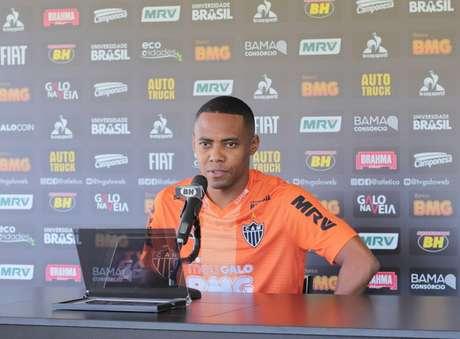 Elias deixou o Galo no inicio do ano e ainda não houve acerto entre as partes, gerando um novo processo trabalhista contra o clube-(Bruno Cantini/Atlético-MG)