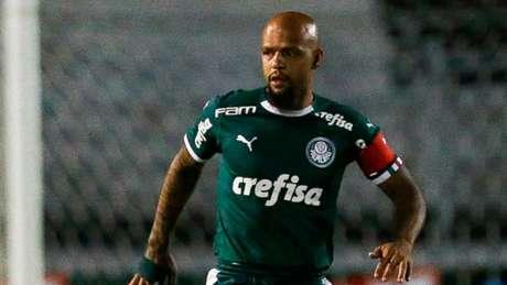 Felipe Melo afirma que tem mostrado condições de voltar para a Seleção Brasileira (Agência Palmeiras/Divulgação)