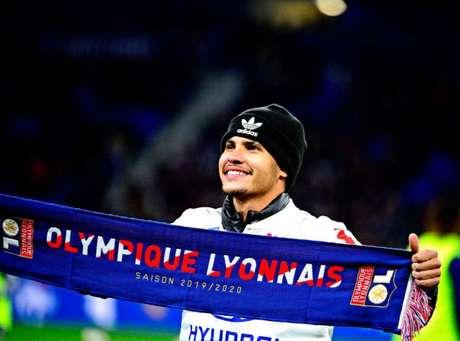 Bruno Guimarães vem se destacando no Lyon (Foto: Lyon / Divulgação)