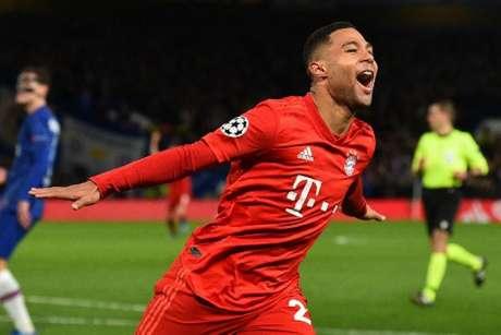 Gnabry é um dos principais nomes do setor ofensivo do Bayern de Munique (GLYN KIRK / AFP)