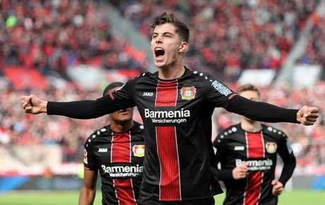 Havertz é o principal jogador do Bayer Leverkusen (Foto: AFP)