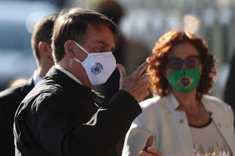 Bolsonaro e Carla Zambelli