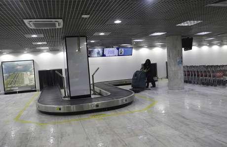 Aeroporto Santos Dumont, no Rio de Janeiro 20/05/2020 REUTERS/Ricardo Moraes