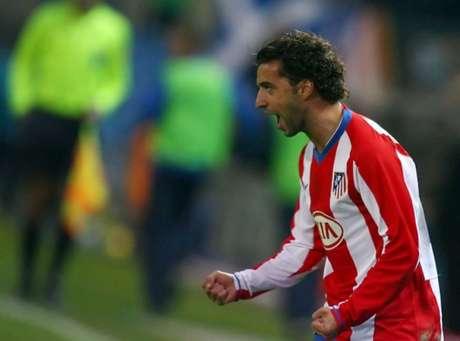 Simão Sabrosa jogou no Atlético de Madrid entre 2007 e 2011 (Foto: JAVIER SORIANO / AFP)