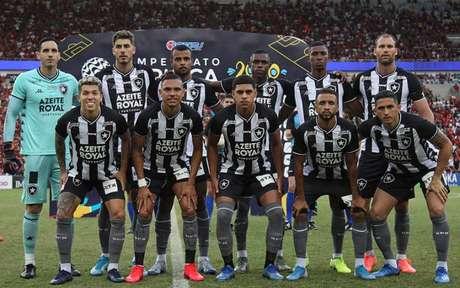 Equipe do Botafogo (Foto: Vítor Silva/Botafogo)