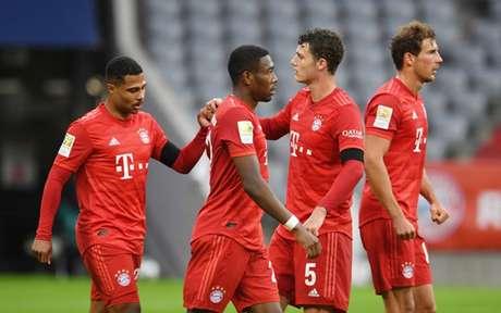 Bayern não teve problemas na vitória (Foto: ANDREAS GEBERT/AFP)