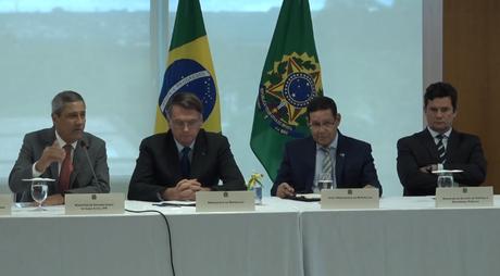 Vídeo da reunião entre Bolsonaro e ministros, liberado na sexta-feira (22)