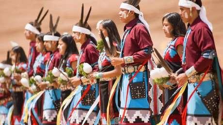 Os navajos têm suas próprias tradições religiosas