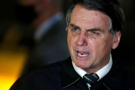 Presidente Jair Bolsonaro no Palácio da Alvorada 22/05/2020 REUTERS/Adriano Machado